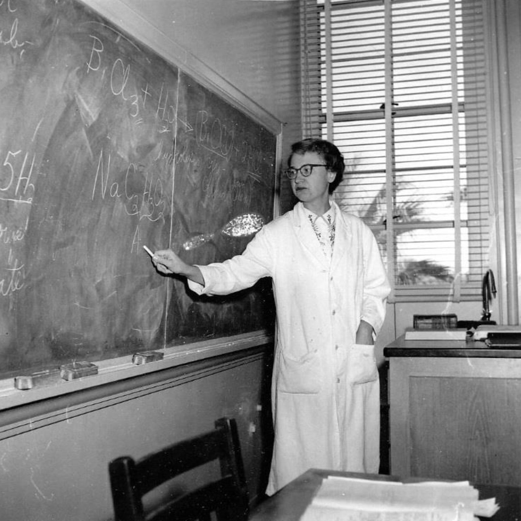 Image of Dr. McLean teaching