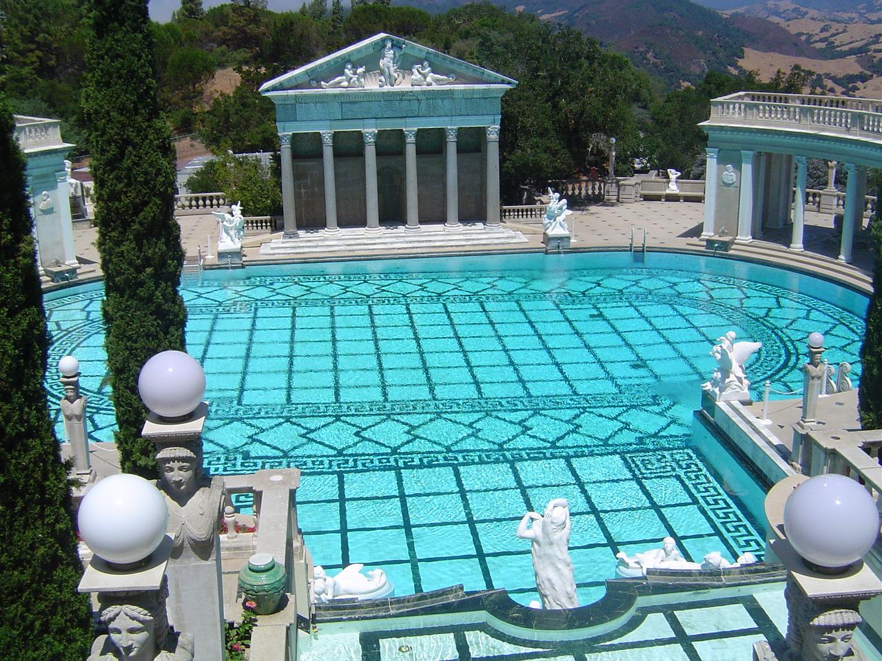 swimming pool hearst castle
